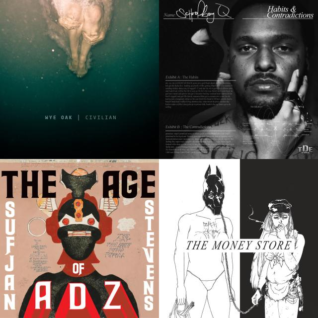 most listened tracks album art